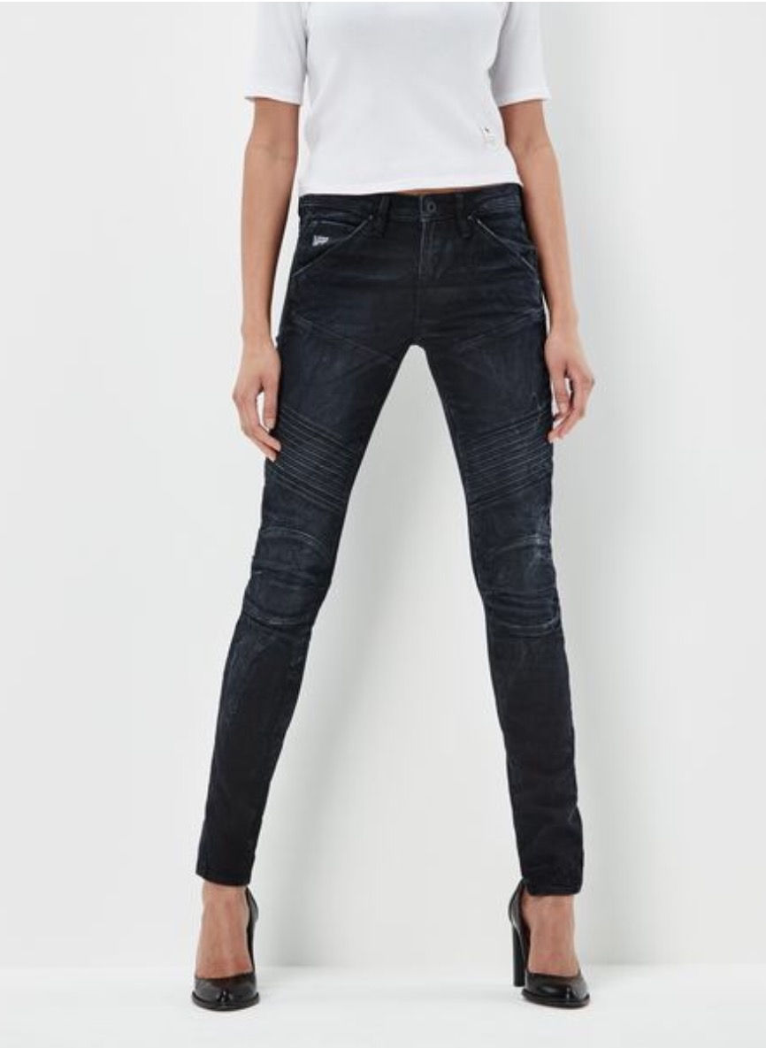 8fbcbf1b32568e G-Star RAW: 5620 Custom Mid Skinny Jeans - Elevated Style