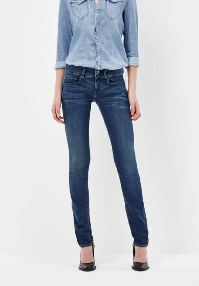 21033a5caf8 G-Star RAW  Midge Cody Mid Waist Skinny Jeans - Elevated Style