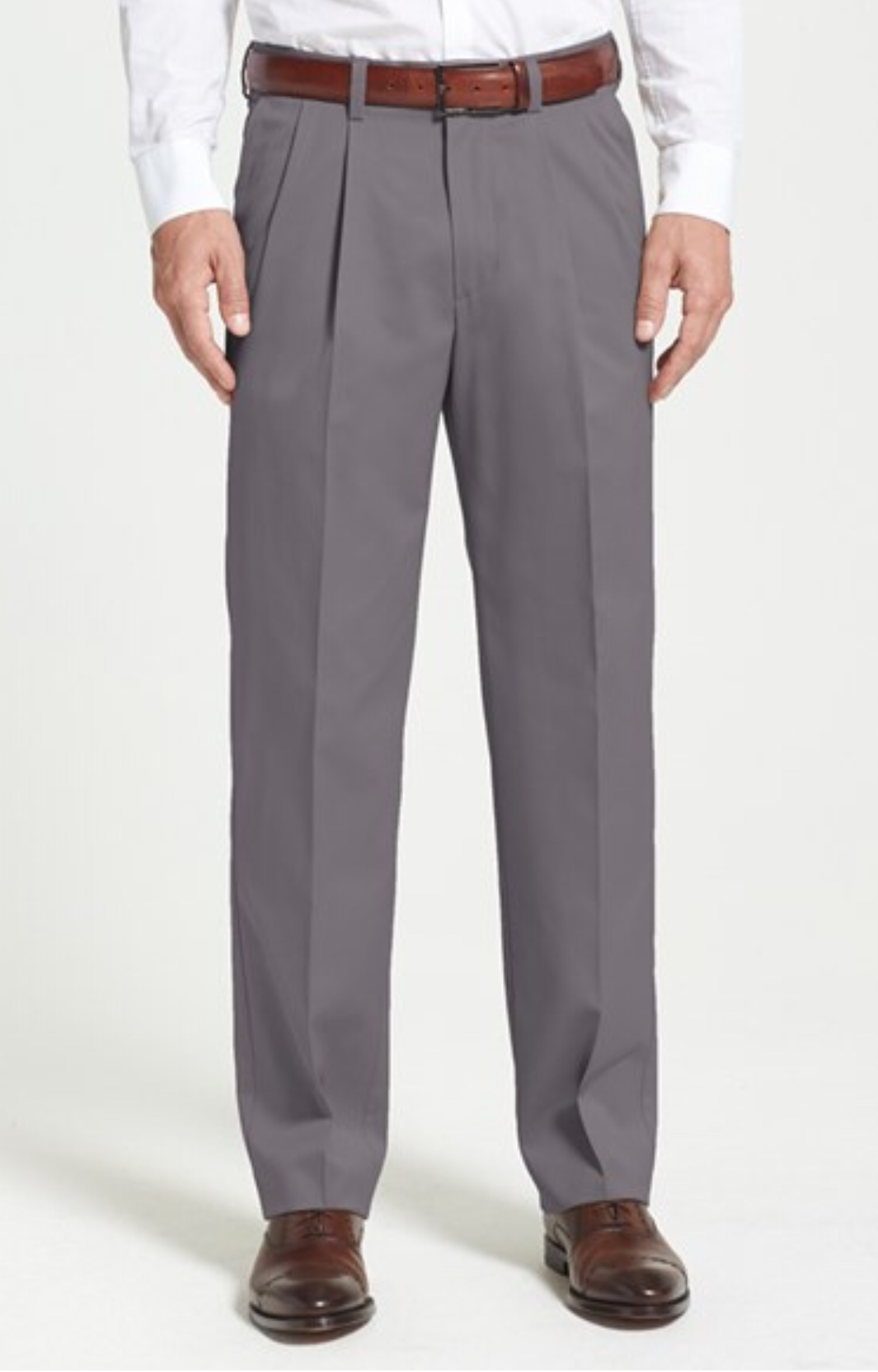 Nordstrom: 'Classic' Smartcare™ Relaxed Fit Double Pleated ...