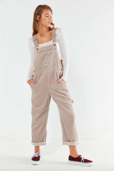eeb048d8998 Urban Outfitters  BDG Relaxed-Fit Corduroy Overall - Elevated Style